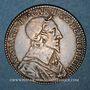 Coins Poitou. Cardinal de Richelieu. Jeton argent 1636