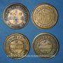 Coins Pontorson (50). Produit J. Vrillac. Lot de 4 jetons publicitaires