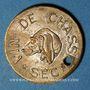 Coins Reims (51). Ch Benoit Fils, Vin de Chasse Sec. Jeton publicitaire