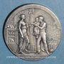 Coins Reims. Caisse d'Epargne. Jeton bronze argenté n.d.