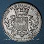 Coins Saint-Germain-en-Laye, Ville, jeton argent. Sans poinçon