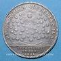 Coins Secrétaires du Roi. Louis XIV. Jeton argent 1711