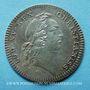 Coins Secrétaires du Roi. Louis XV. Jeton argent 1731