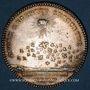 Coins Secrétaires du Roi. Louis XVI. Jeton argent 1776, gravé par Droz
