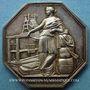 Coins Seine, Chambre Syndicale des Tissus, jeton argent. Poinçon : corne d'abondance