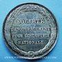 Coins Société d'Encouragement pour l'Industrie nationale. Jeton argent. Poinçon : lampe antique