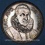 Coins Société des Bibliophiles français. Jeton argent. Poinçon : abeille