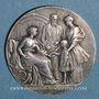 Coins Soissons - Caisse d'Epargne. Jeton bronze argenté n.d.