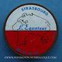 Coins Strasbourg, L'Equateur. Publicité sur pièce de 10 francs