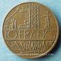 Coins Strasbourg. L'Equateur. Publicité sur pièce de 10 francs