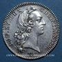 Coins Syndics généraux. Louis XV. Jeton argent 1737