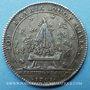 Coins Trésor royal. Louis XIV. Jeton argent 1701