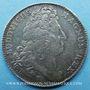 Coins Trésor royal. Louis XIV. Jeton argent 1706