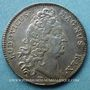 Coins Trésor royal. Louis XIV. Jeton argent 1712