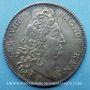 Coins Trésor royal. Louis XIV. Jeton argent 1714