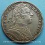 Coins Trésor royal. Louis XIV. Jeton argent 1751