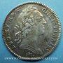 Coins Trésor royal. Louis XIV. Jeton argent 1755