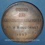 Coins Union des Industries chimiques 1937. Jeton argent. 36,49 mm. Attribution : A. Bouzonnet