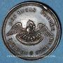 Coins Valenciennes, Société des Incas, 1851, Marche triomphale, jeton argent 22,3 mm