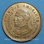 Coins Vichy (03). Baguette Franco-Russe. Jeton publicitaire