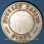 Coins Vichy (03). Nouveau casino. Jeton publicitaire maillechort