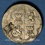 Coins Espagne. Poids monétaire de 4 réaux de Philippe II à Philippe V. Poinçon de contrôle Lespée, Reims