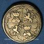 Coins Espagne. Poids monétaire de 4 réaux de Philippe II à Philippe V
