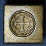 Coins Espagne. Poids monétaire de l'octuple pistole de Charles Quint milieu du XVIIIe