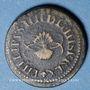 Coins Espagne. Poids monétaire du double réal de Philippe IV (1621-1665)