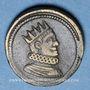 Coins Italie. Milan. Poids monétaire du 1/2 de ducaton nouveau de Philippe III et Philippe IV d'Espagne