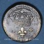 Coins Louis XIV (1643-1715). Poids monétaire du double louis