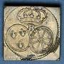 Coins Louis XV (1715-1774) et Louis XVI (1774-1793). Poids monétaire du louis aux lunettes et au bandeau