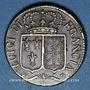 Coins Louis XVI (1774-1793). Poids monétaire du louis d'or neuf aux écus