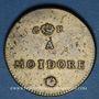 Coins Portugal. Poids monétaire de la lisbonine ou moidore. Fabrication anglaise, fin 18e siècle