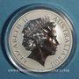 Coins Australie. Elisabeth II (1952- ). 1 dollar 2011 Kangourou. (1 once. 999 /1000)