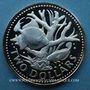 Coins Barbade. 2 dollars 1973