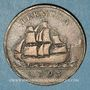 Coins Bermudes. Georges III (1760-1820). 1 penny 1793
