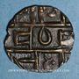 Coins Bhoutan. 1/2 roupie (1835-1910)