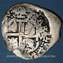 Coins Bolivie. Charles II (1665-1700). 2 reales 1686VR. Potosi