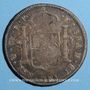 Coins Bolivie. Charles IV (1788-1808). 8 reales 1800PTS PP. Potosi