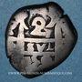 Coins Bolivie. Ferdinand VI (1746-1759). 2 reales 1758. Potosi