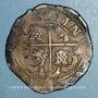Coins Bolivie. Philippe IV (1621-1665). 8 reales (1630-1631) P T. Potosi