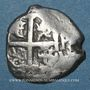 Coins Bolivie. Philippe V (1700-1746). 1 real 1741 P P. Potosi. Lettre d'essayeur : P