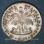 Coins Bolivie. République. 1 sol 1856PTS FJ