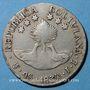 Coins Bolivie. République. 4 soles 1830J