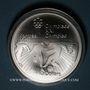 Coins Canada. Elisabeth II (1952- /). 10 dollars 1976. J.O. Montréal. Football