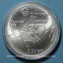 Coins Canada. Elisabeth II (1952- /). 5 dollars 1973. J.O. Montréal. Carte d'Amérique du Nord