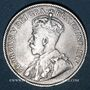 Coins Canada. Georges V (1910-1936). 25 cents 1914