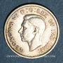 Coins Canada. Georges VI (1936-1952). 10 cents 1945
