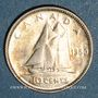 Coins Canada. Georges VI (1936-1952). 10 cents 1950